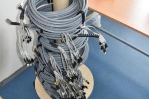 MRJ21 výroba metalických kabelů